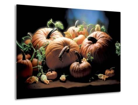 Pumpkins-ATU Studios-Metal Print