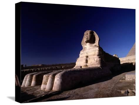 Close View of the Great Sphinx-Richard Nowitz-Stretched Canvas Print