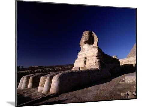 Close View of the Great Sphinx-Richard Nowitz-Mounted Photographic Print