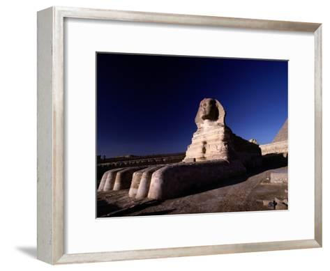 Close View of the Great Sphinx-Richard Nowitz-Framed Art Print