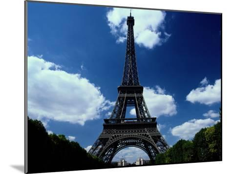A Scenic View of the Eiffel Tower-Todd Gipstein-Mounted Photographic Print