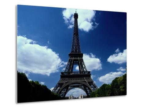 A Scenic View of the Eiffel Tower-Todd Gipstein-Metal Print