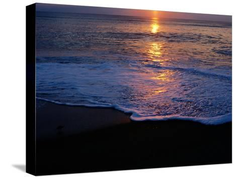 Kitty Hawk Beach at Sunset-Raymond Gehman-Stretched Canvas Print