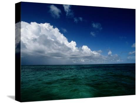 Scenic View of Grand Turk Island-Wolcott Henry-Stretched Canvas Print