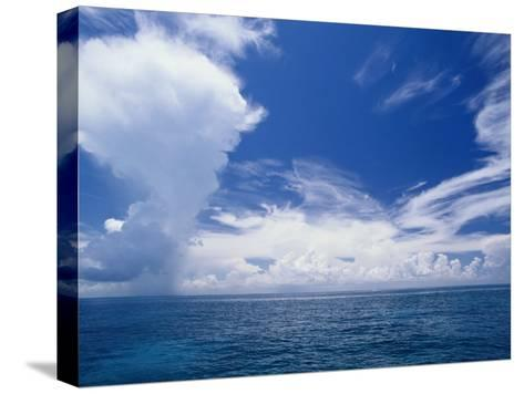 Scenic View of the Clouds off Key Largo-Wolcott Henry-Stretched Canvas Print