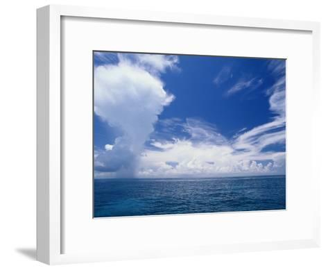 Scenic View of the Clouds off Key Largo-Wolcott Henry-Framed Art Print