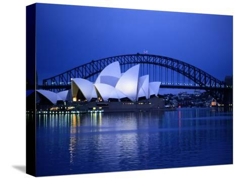 Harbor and Sydney Opera House-Sam Abell-Stretched Canvas Print