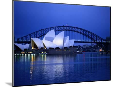 Harbor and Sydney Opera House-Sam Abell-Mounted Photographic Print