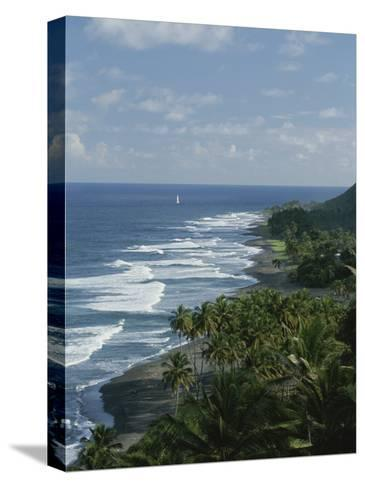 Ebb Tide and Azure Skies, The Quintessence of a Tropical Retreat-Michael Melford-Stretched Canvas Print