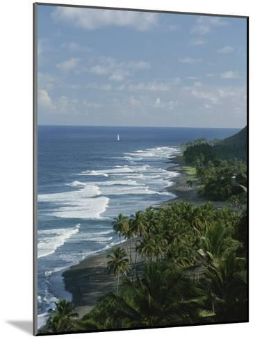 Ebb Tide and Azure Skies, The Quintessence of a Tropical Retreat-Michael Melford-Mounted Photographic Print