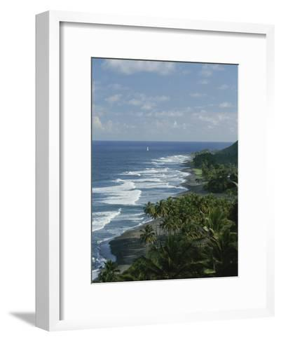 Ebb Tide and Azure Skies, The Quintessence of a Tropical Retreat-Michael Melford-Framed Art Print