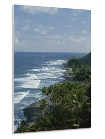 Ebb Tide and Azure Skies, The Quintessence of a Tropical Retreat-Michael Melford-Metal Print