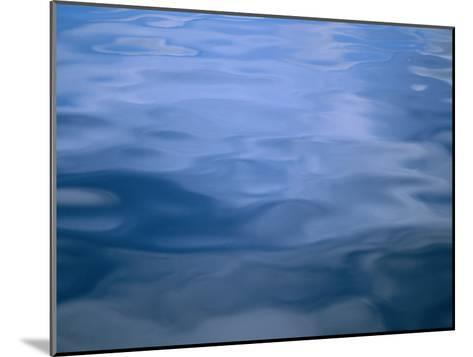 Gently Rippled Blue Water-Heather Perry-Mounted Photographic Print