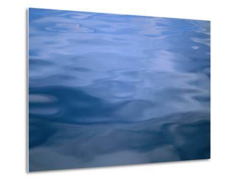 Gently Rippled Blue Water-Heather Perry-Metal Print