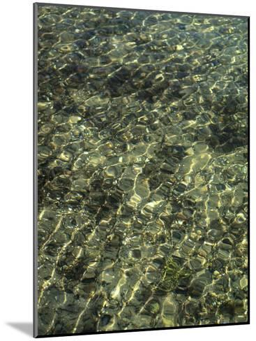 A Design in Water Caused by Ripples-Clarita Berger-Mounted Photographic Print