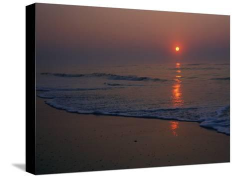 A View of the Assateague Island Surf at Sunrise-Medford Taylor-Stretched Canvas Print