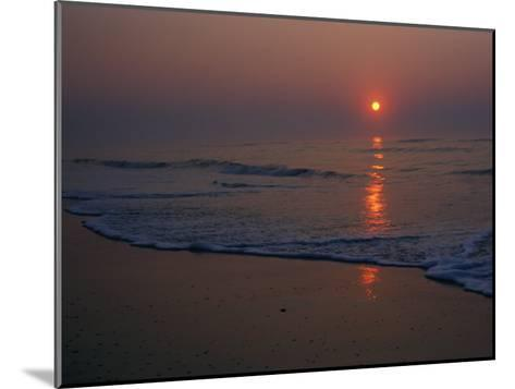 A View of the Assateague Island Surf at Sunrise-Medford Taylor-Mounted Photographic Print