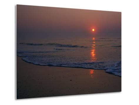 A View of the Assateague Island Surf at Sunrise-Medford Taylor-Metal Print