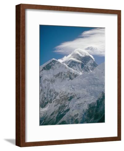 Mount Everest Viewed from Kala Pattar-Michael Klesius-Framed Art Print