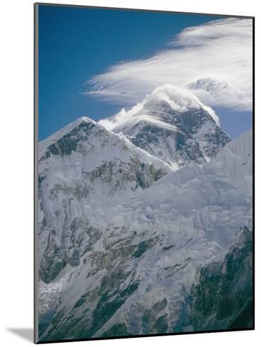 Mount Everest Viewed from Kala Pattar-Michael Klesius-Mounted Photographic Print