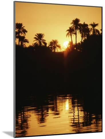 Sunrise over the Nile River-Anne Keiser-Mounted Photographic Print