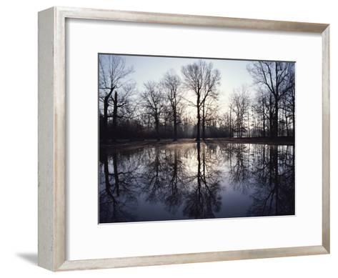 View of Bloody Pond-Sam Abell-Framed Art Print