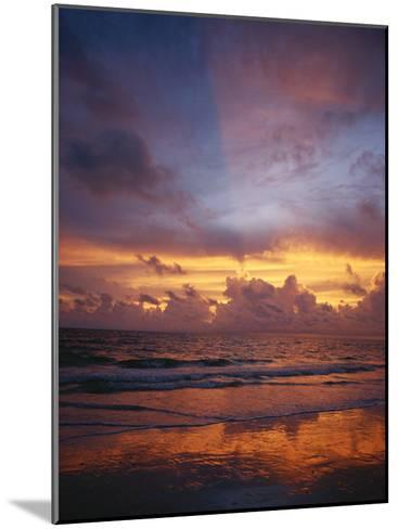 A Multi-Hued Sunset over Marco Island, Florida-Raul Touzon-Mounted Photographic Print