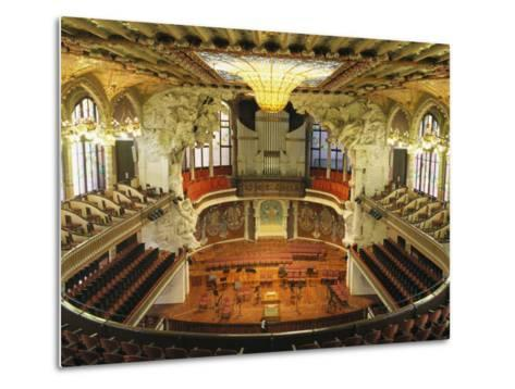 Interior View of an Ornate Orchestra House-Richard Nowitz-Metal Print