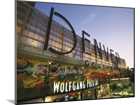 Twilight View of the Denver Pavilions Mall-Richard Nowitz-Mounted Photographic Print