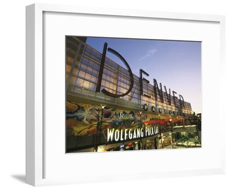 Twilight View of the Denver Pavilions Mall-Richard Nowitz-Framed Art Print