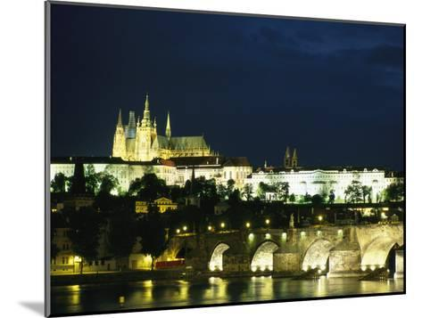 Evening View of the Skyline of Old Prague-Taylor S^ Kennedy-Mounted Photographic Print