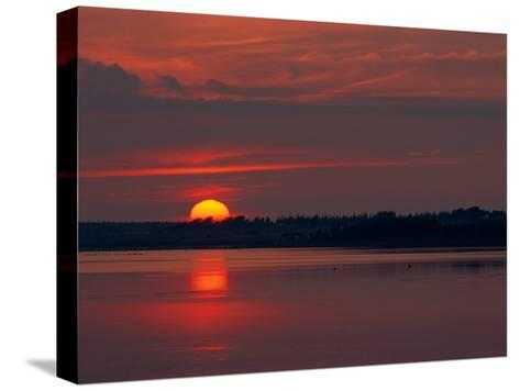 Canadian Twilight View-James P^ Blair-Stretched Canvas Print