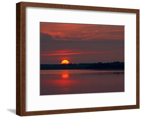 Canadian Twilight View-James P^ Blair-Framed Art Print