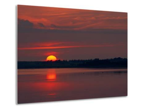 Canadian Twilight View-James P^ Blair-Metal Print