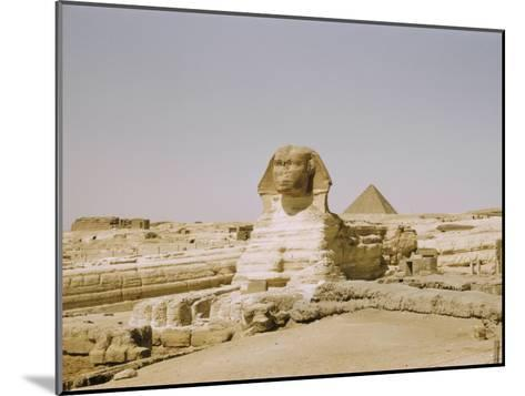 Traditional View of the Great Sphinx at Giza-Joseph Baylor Roberts-Mounted Photographic Print