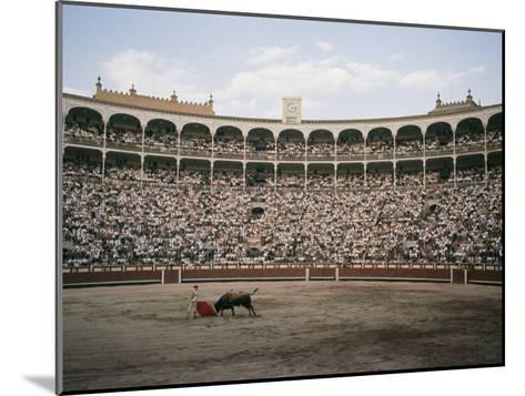 A Bullfight in Madrid-Walter Meayers Edwards-Mounted Photographic Print
