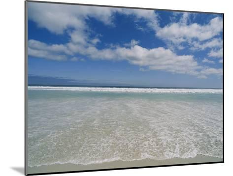 The Aqua Blue Clear Waters of the Atlantic Roll onto This Massive Beach at Kommethie-Stacy Gold-Mounted Photographic Print