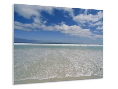 The Aqua Blue Clear Waters of the Atlantic Roll onto This Massive Beach at Kommethie-Stacy Gold-Metal Print