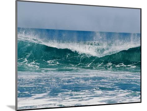 The Surf Crashes on the Australian Shoreline Near Kalbarri-Bill Ellzey-Mounted Photographic Print