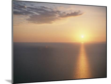 The Sun Sets over Lake Superior-Raymond Gehman-Mounted Photographic Print