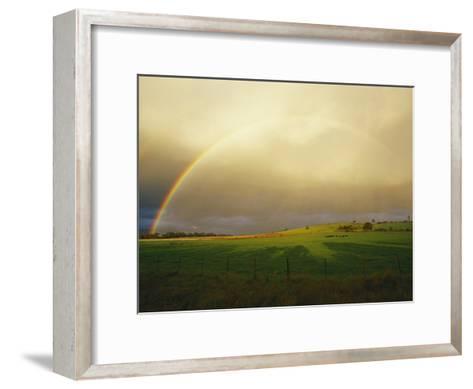 A Rainbow Appears over the Landscape-Jason Edwards-Framed Art Print