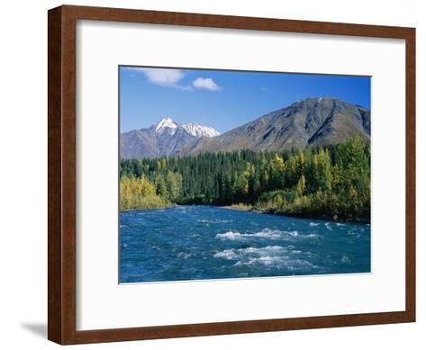 Clear Flowing Honolulu Creek and Fall Colors-Rich Reid-Framed Art Print