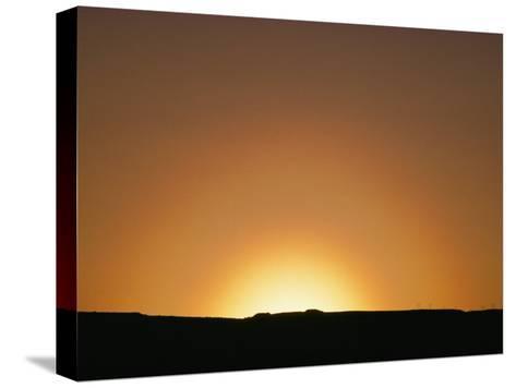 Sunset, Arizona-David Edwards-Stretched Canvas Print