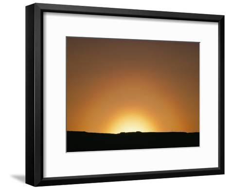 Sunset, Arizona-David Edwards-Framed Art Print