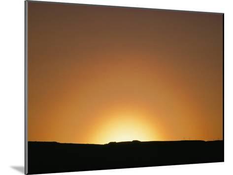 Sunset, Arizona-David Edwards-Mounted Photographic Print