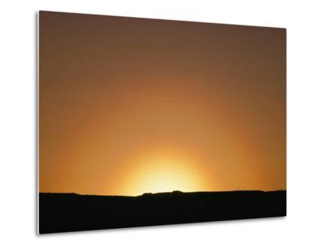 Sunset, Arizona-David Edwards-Metal Print