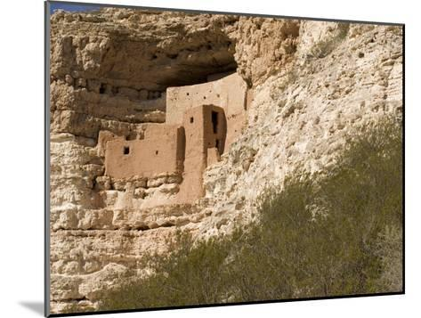 View of This Five-Story, Twenty-Room Cliff Dwelling near Flagstaff-Charles Kogod-Mounted Photographic Print