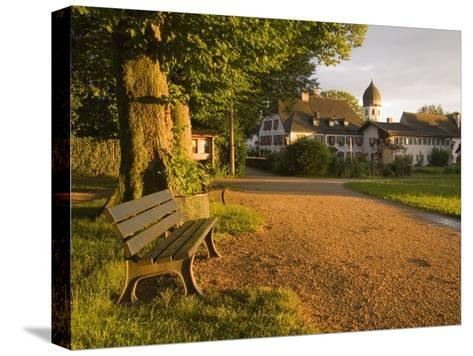 A Summertime View of the Fraueninsel, on the Chiemsee, Germany-Taylor S^ Kennedy-Stretched Canvas Print