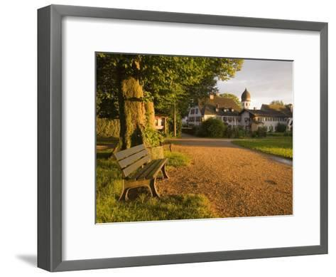 A Summertime View of the Fraueninsel, on the Chiemsee, Germany-Taylor S^ Kennedy-Framed Art Print