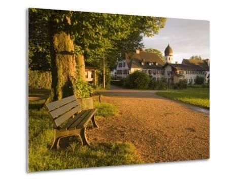 A Summertime View of the Fraueninsel, on the Chiemsee, Germany-Taylor S^ Kennedy-Metal Print
